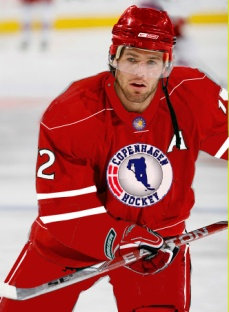 Mike Fisher has scored 50 goals on 501 EURO League shots with Copenhagen. He also has 95 assists.
